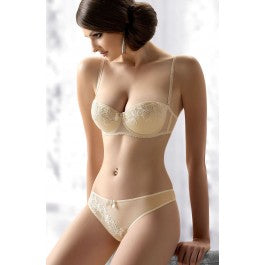 Gracya Evelyn Bra Cream, Size Range 32D - 38C