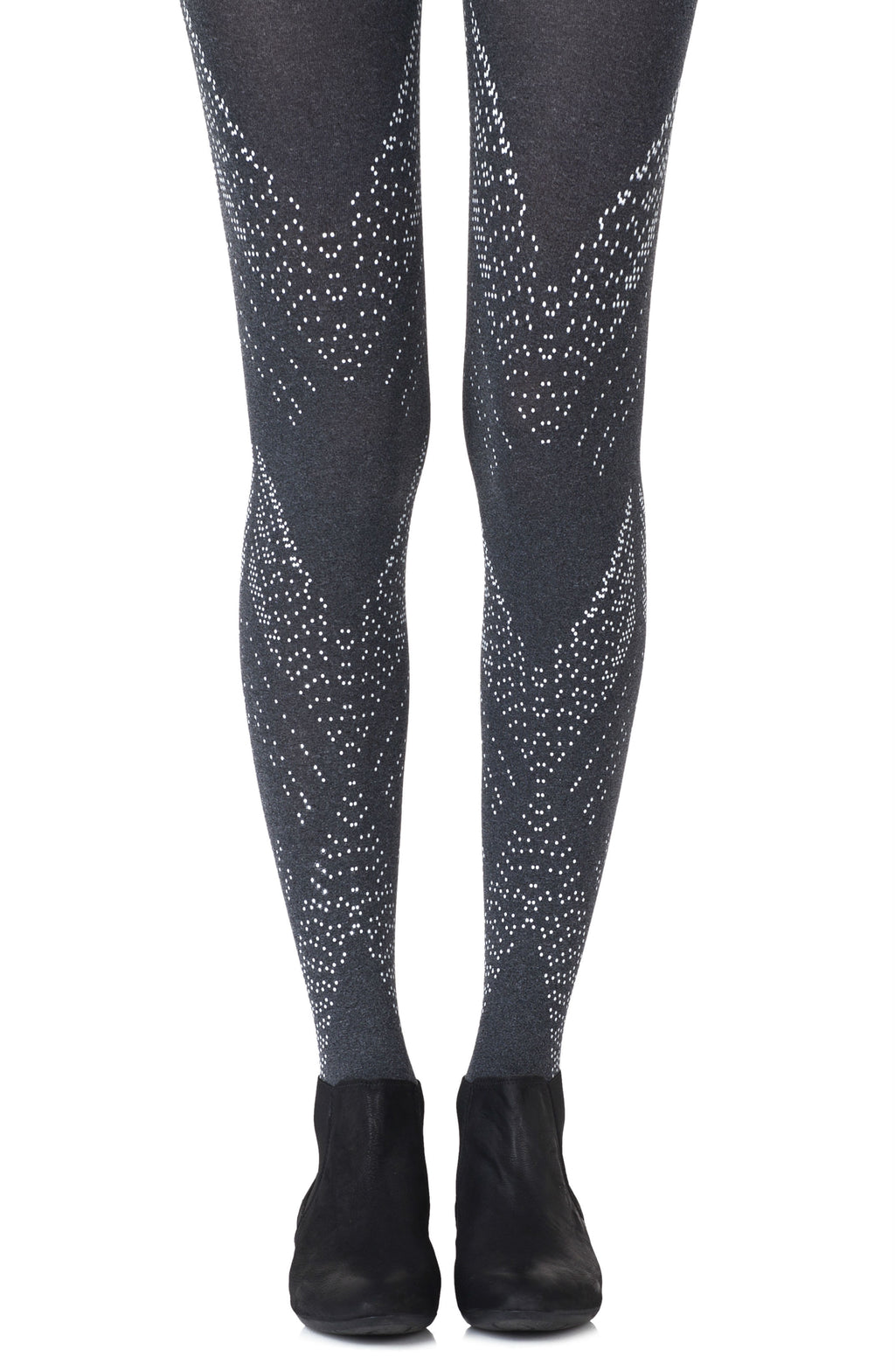 "Zohara ""You're My Darling Angle"" Heather Grey Tights"