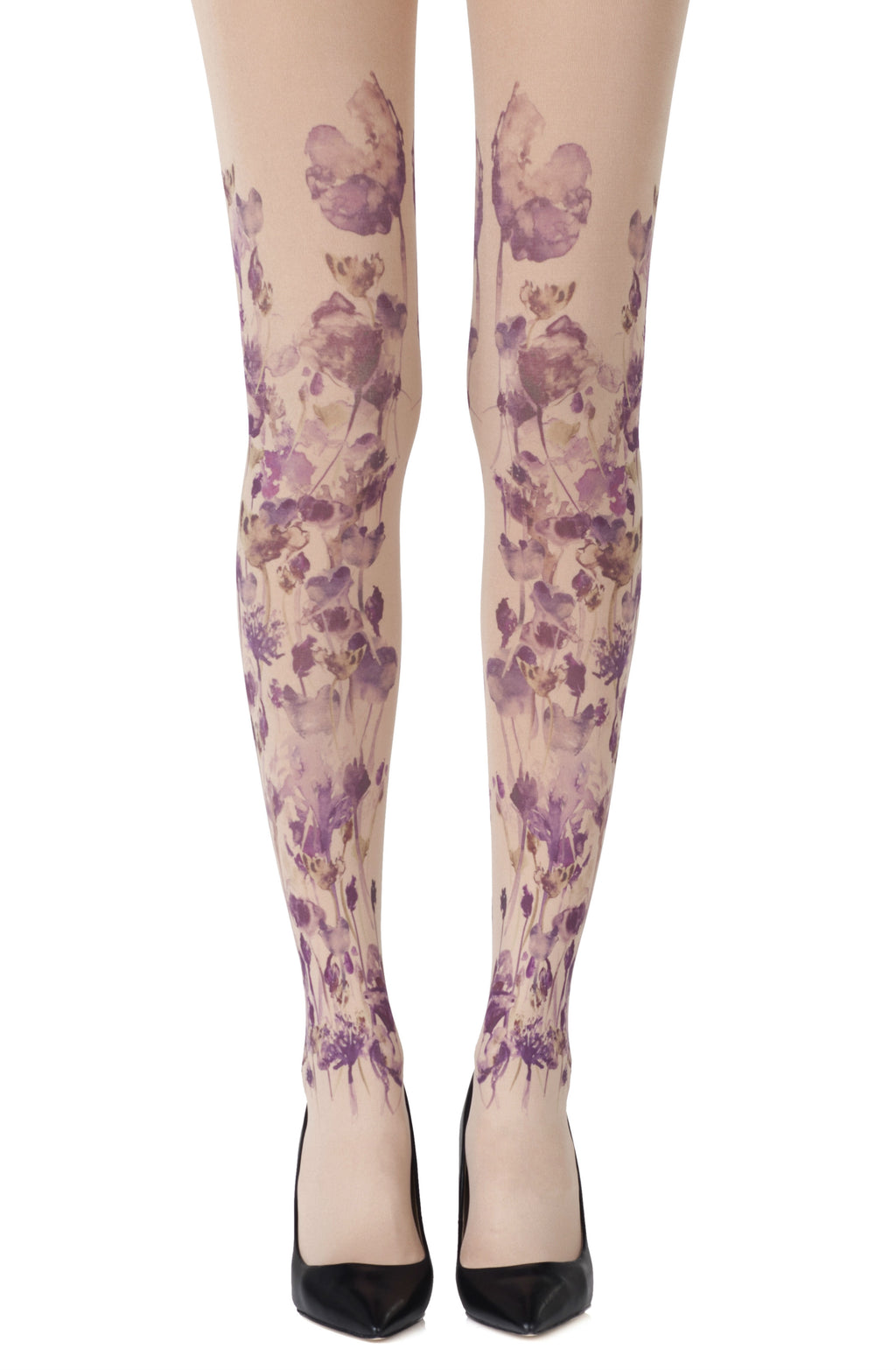 "Zohara ""Garden Party"" Powder Tights"
