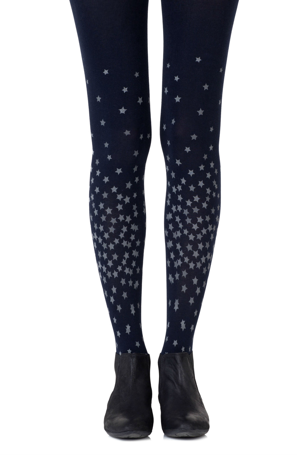 "Zohara ""Rise And Shine"" Navy Tights"