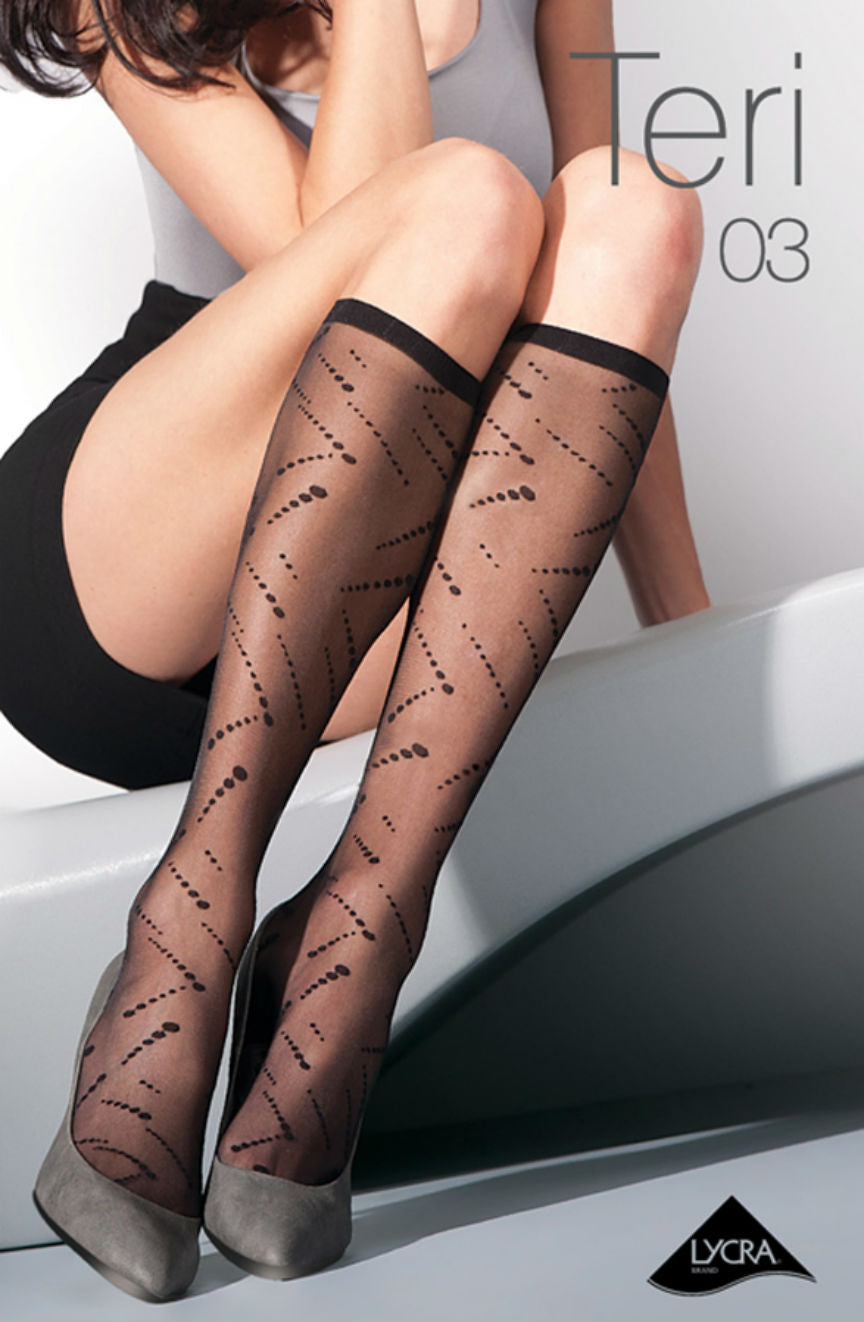 Teri 03-585 Knee Highs