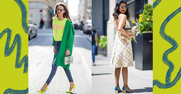 Trend Watch: Colored Heels