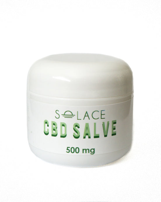 CBD Infused Salve 2oz 500mg CBD (Extra Strength)