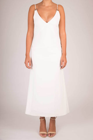 Dion Lee Ivory Loop Safari Cami Dress