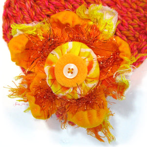 Photo Prop Newborn Hats - Sunset