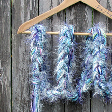 Load image into Gallery viewer, Braided Lariat Scarf - Glacier