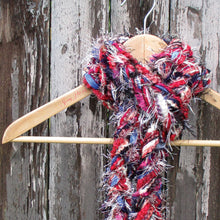 Load image into Gallery viewer, Braided Lariat Scarf - Autumn Rain