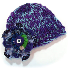 Load image into Gallery viewer, Photo Prop Newborn Hats - Periwinkle