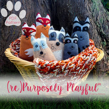 Load image into Gallery viewer, Woodland Pals™ PDF Sewing Pattern - (re)Purposely Playful™