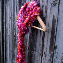Load image into Gallery viewer, Braided Lariat Scarf - Heart Throb