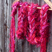Load image into Gallery viewer, Braided Lariat Scarf - Fever