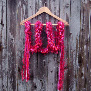 Braided Lariat Scarf - Fever
