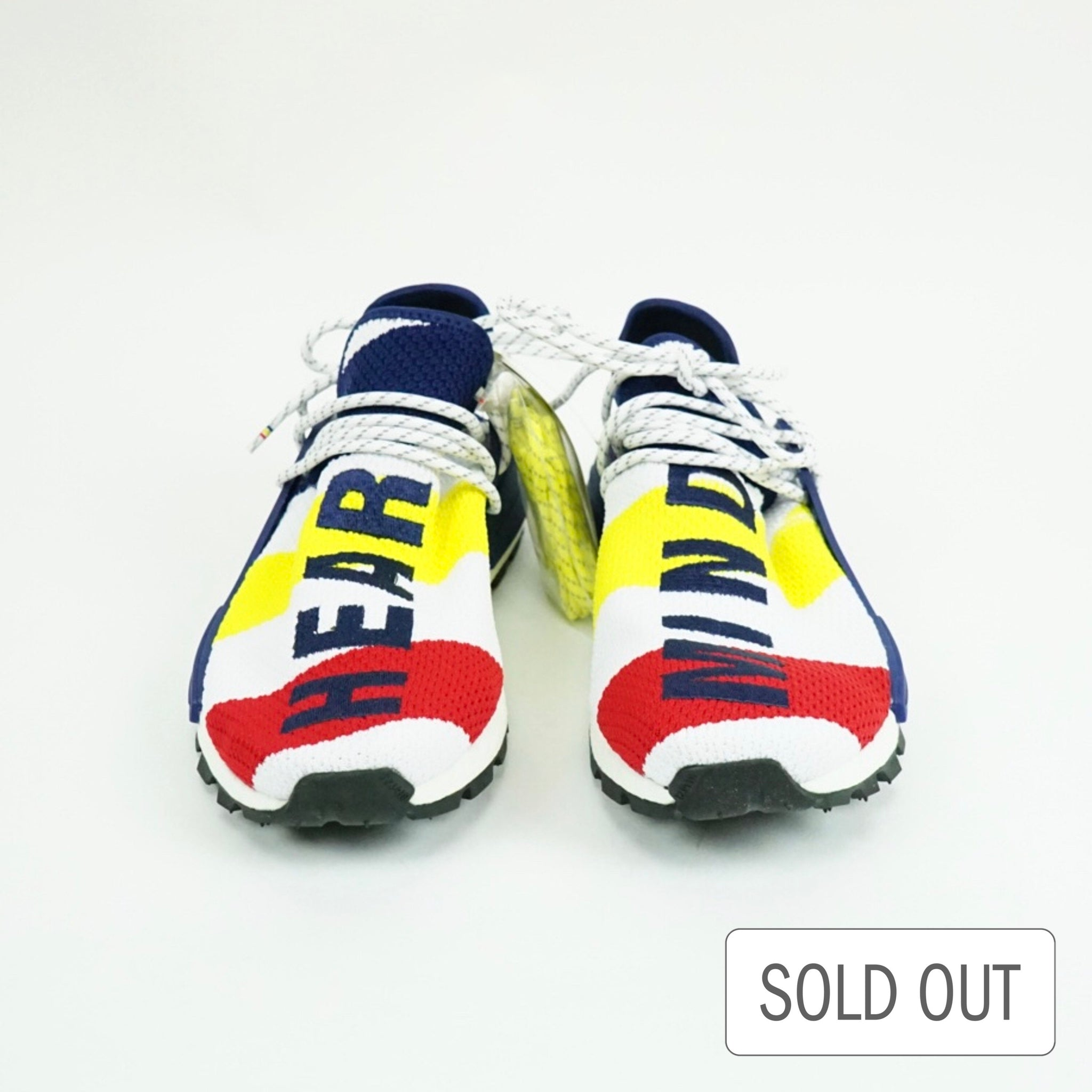 low priced 911c8 f3521 Adidas X Pharrell Williams NMD Human Race Hu BBC Billionaire Boys Club -  Scarlet / White / Multi