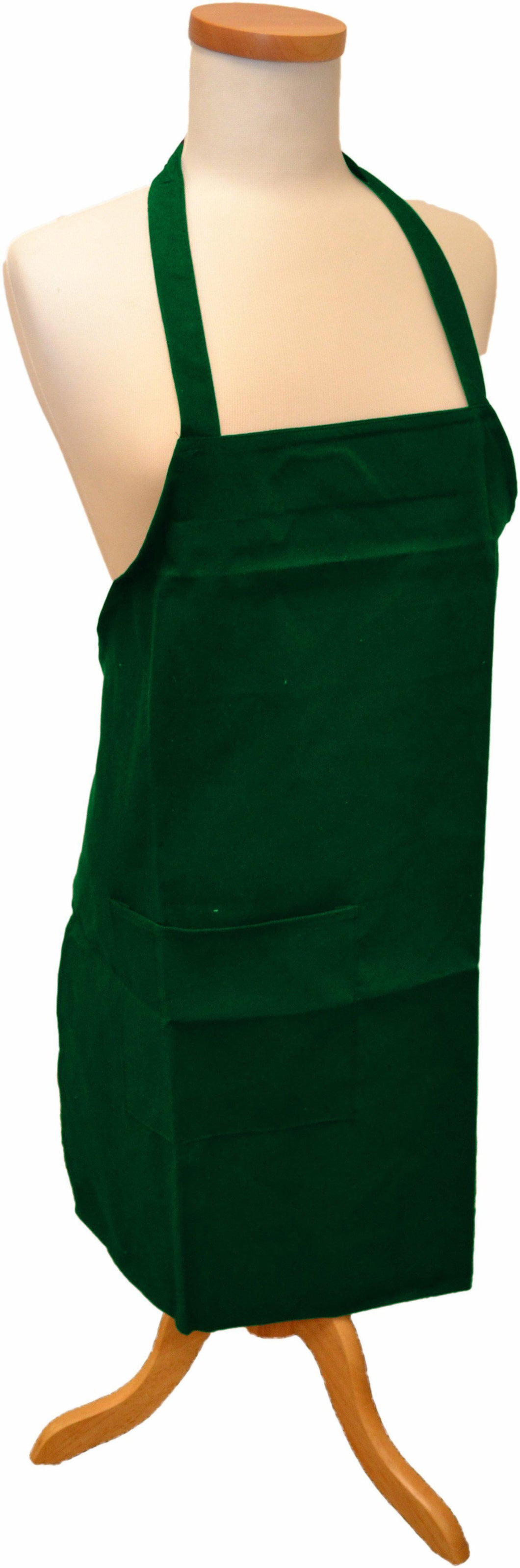 Hunter Green Bib Apron