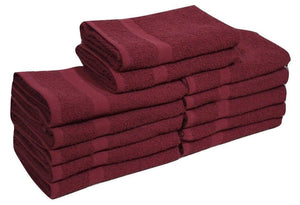 Burgundy Hand Towel