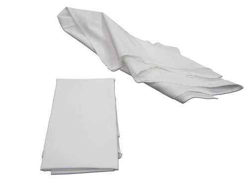 Pro-Clean Basics: Sanitized Anti-Bacterial White Wiping Towel, 28in x 29in