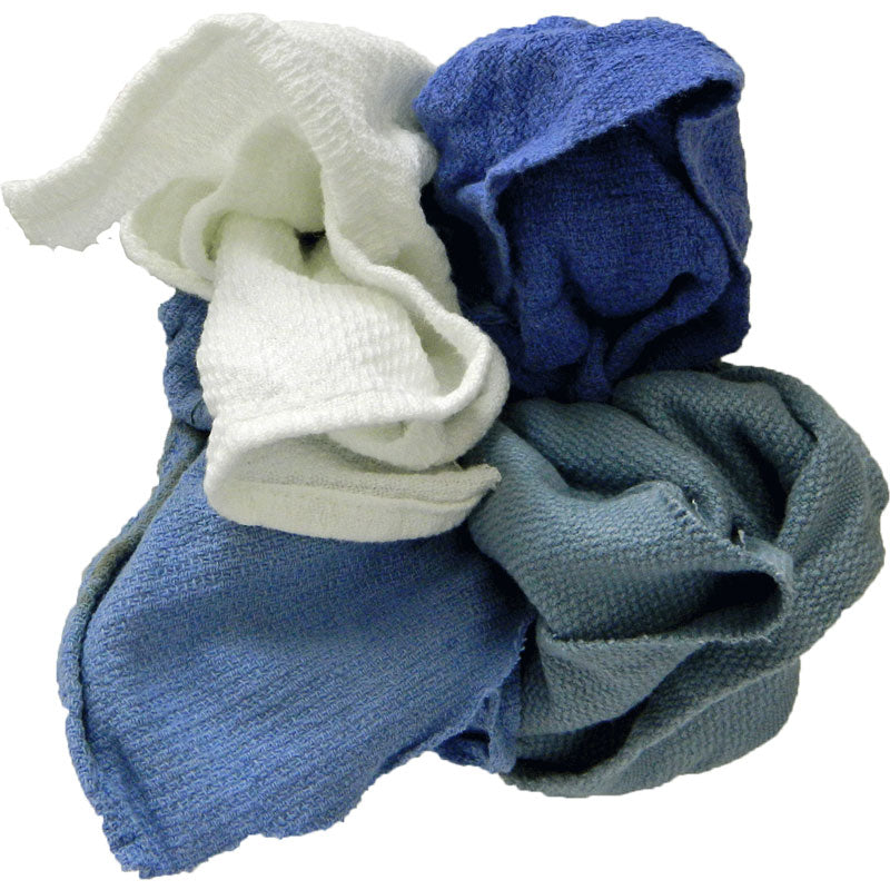 Pro-Clean Basics: Sanitized Anti-Bacterial Woven Wiping Cloth Rags - Colored