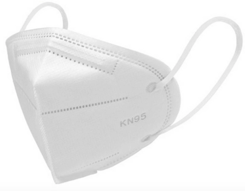 Non-powered Air Purifying Disposable KN95 Mask (100-Pack)
