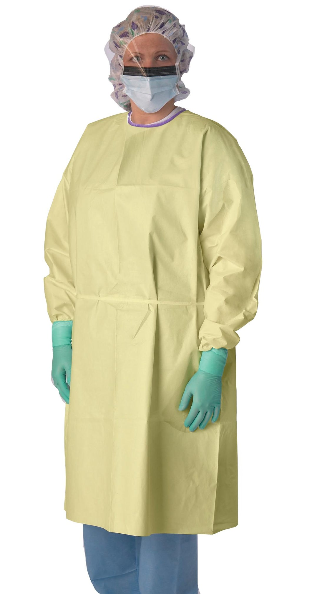 AAMI Level 3 Heavyweight Multi-Ply Isolation Gown (100-Pack)
