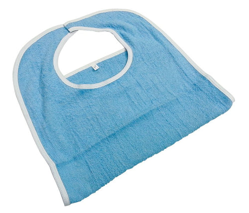 Healthcare Basics Bib 3.5. lb Blue with Velcro Closure