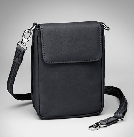 Cross Body Phone Purse/Pouch (Black)