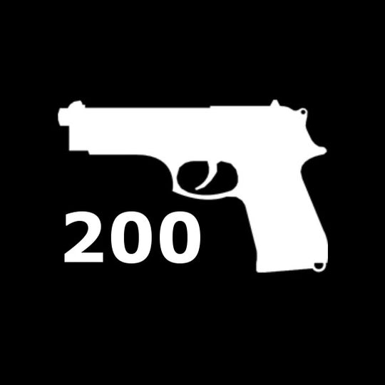 Pistol 200 [5 Hour Course]
