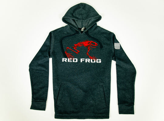 Red Frog Hooded Sweatshirt