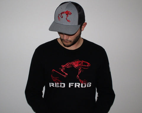 Red Frog Long Sleeve