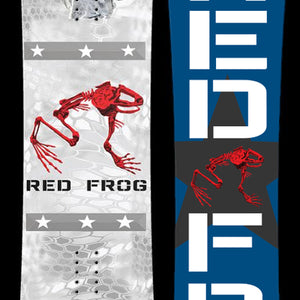 Red Frog Snowboard