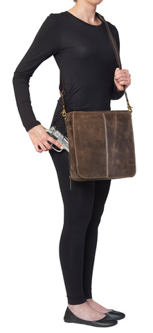 Vintage Messenger Bag - Concealed Carry