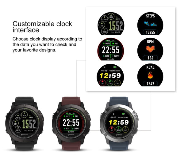 c829aad9bf8 ... Zeblaze VIBE 3 HR Sports Smartwatch - locatedealz ...