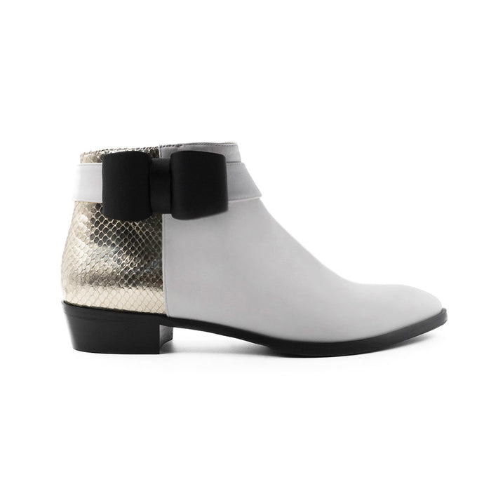 Aria Ankle Bootie with Bow