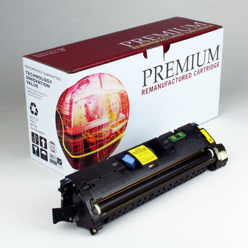 HP 122A Q3962A Reman Yellow Toner 4K