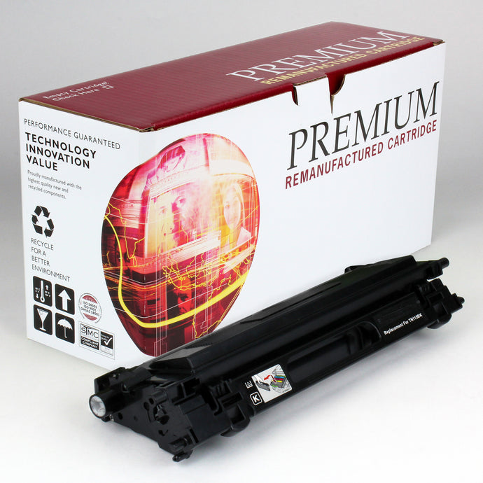 Brother TN115BK Reman Black Toner 5K