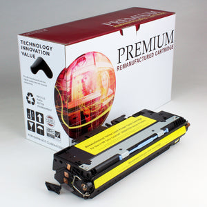 HP 307A CE742A Reman Yellow Toner 7.3K