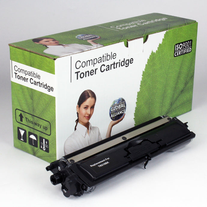 Brother TN210BK Comp Black Toner 2.2K
