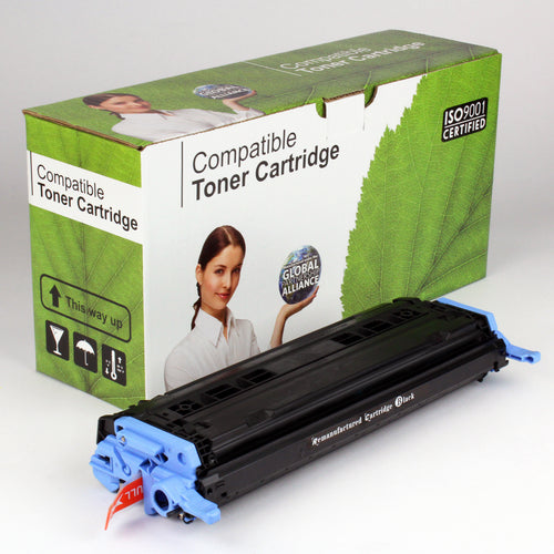 HP 124A Q6000A Comp Black Toner 2.5K