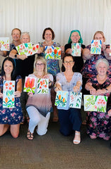 Brisbane Watercolour Workshops and Social Art Workshops