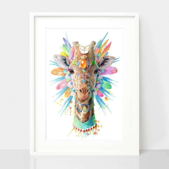 Giraffe Print - Spirit Animal Series