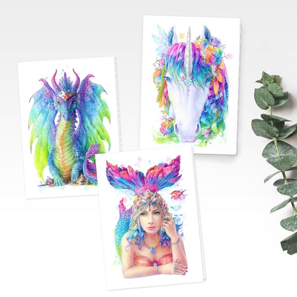 Greeting Cards Value Pack - Mystic Collection