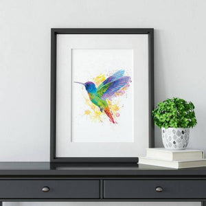 Hummingbird Bird Fine Art Wall Print