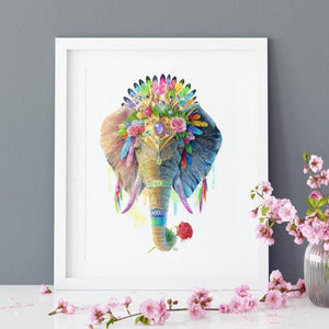 Elephant Print - Spirit Animal Series