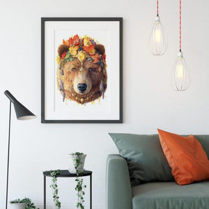 Bear Art Print - Spirit Animal Series