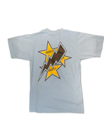 Thunder & Stars Tee- Carolina Blue