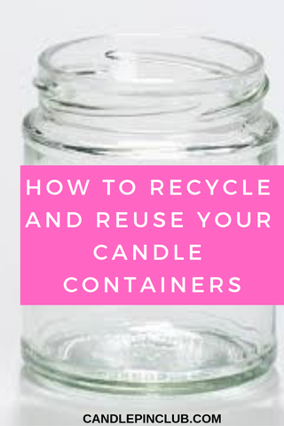 candle containers recycle