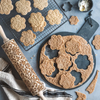Gingerbread Sablé Cookies