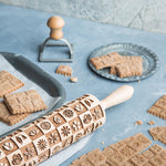 FLEURS ROLLING PIN - pastrymade