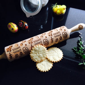 EASTER DAY ROLLING PIN