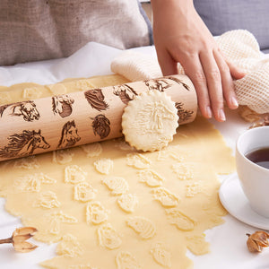 HORSES ROLLING PIN