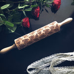 ROSES ROLLING PIN - pastrymade
